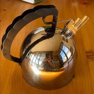Alessi Italian Whistling Tea kettle